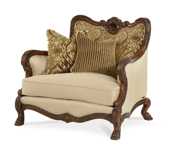 Wood Trim Chair 1/2 - Opt1 - 39