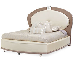 Upholstered Bed (4 pc)