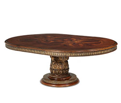 Round Dining Table (2 pc) - 55